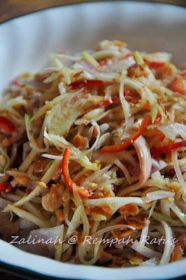 Kerabu Mangga Ala Thai