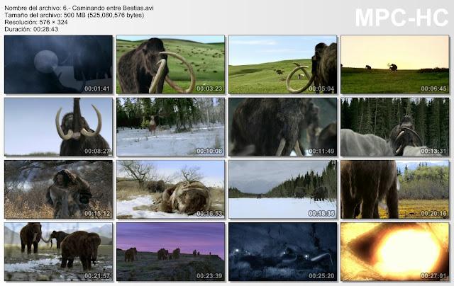 |BBC|3GB|Caminando entre Bestias|6/6|DBDRip|MEGA