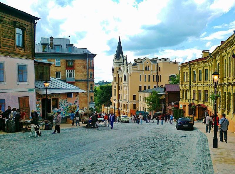 Мер Києва Кличко хоче створити на Андріївському узвозі пішохідну зону і зробити його туристичною визитівкою Києва