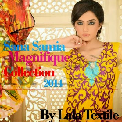 Sana Samia Summer Dresses Collection 2014