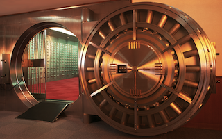 bank vault