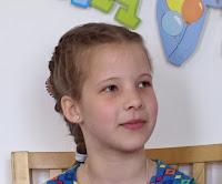 Hannah 9 jaar!