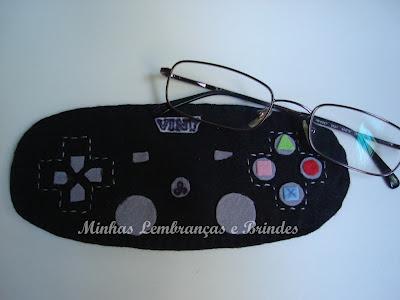 capa-óculos-feltro-presente-dia-dos-pais-controle-playstation-3