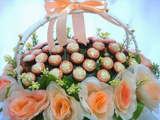 Chocolate In Flower Basket
