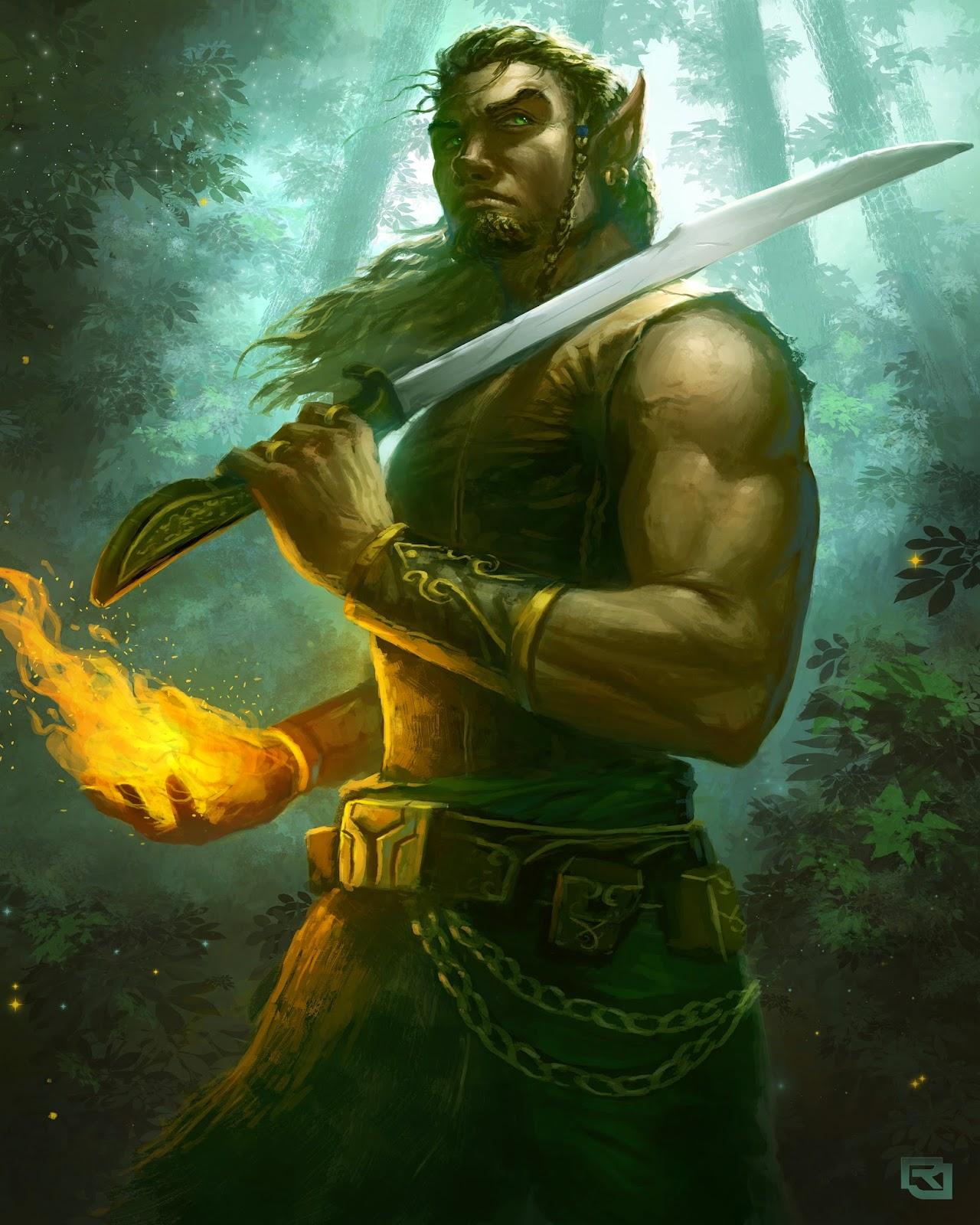 Wild Elves WoodElf8x10