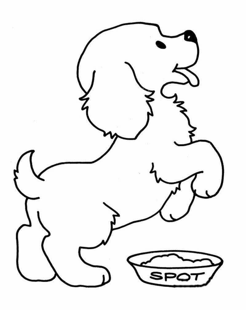 Mewarnai Gambar Anjing | Ayo Mewarnai