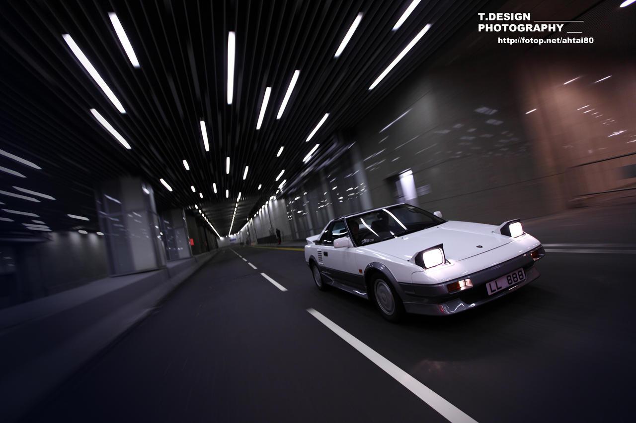 Toyota MR2, AW10, AW11, mid-engine, midship, japoński, sportowy, samochód, RWD 日本車 トヨタ