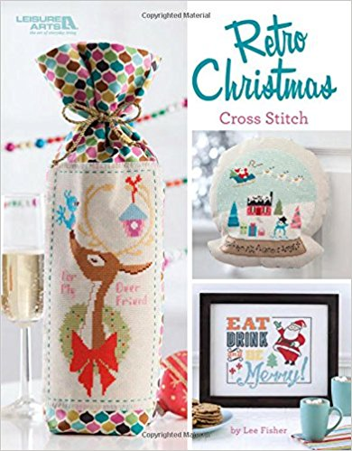 """Retro Christmas Cross Stitch"" by StitchyFish Designs  Get Yours Now!"