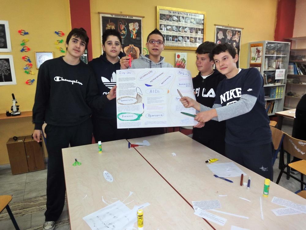 """Μαθητές εν """"επιστημονική"""" δράσει"""