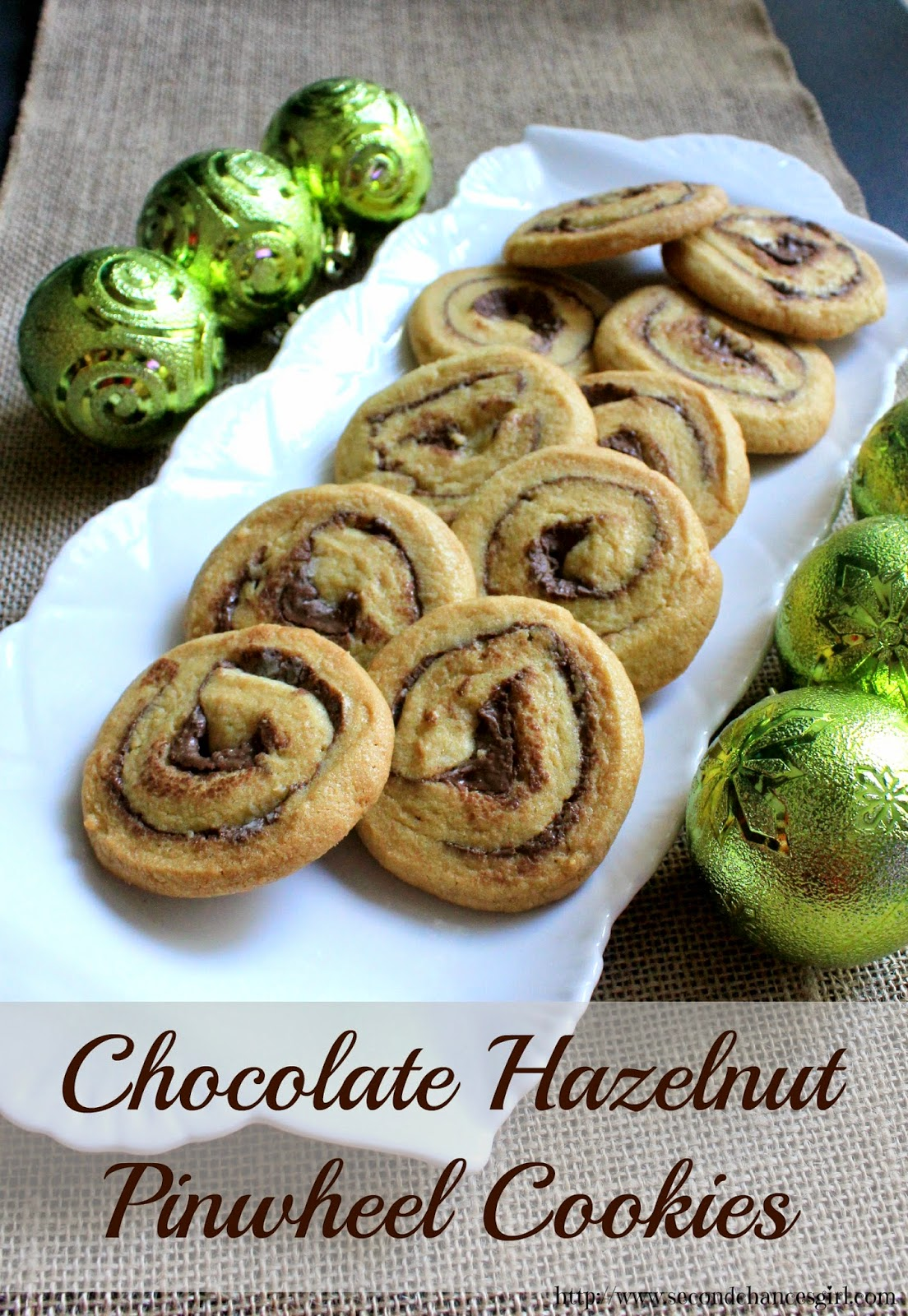 Chocolate Hazelnut Pinwheel Cookies #HolidayMadeSimple #ad