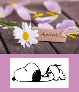 Snoopy macht Pause