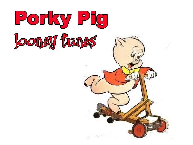 looney tunes porky pig - Porky Pig Christmas