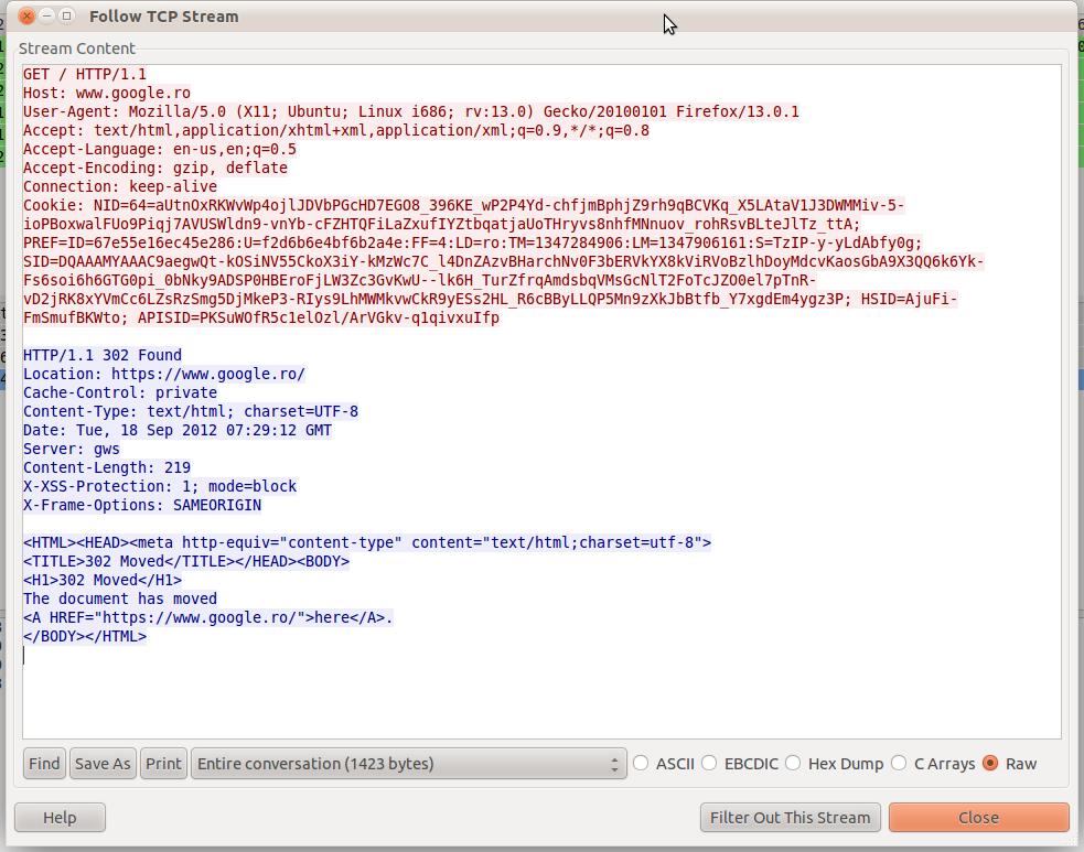 using tcpdump and wireshark to capture and analyze traffic