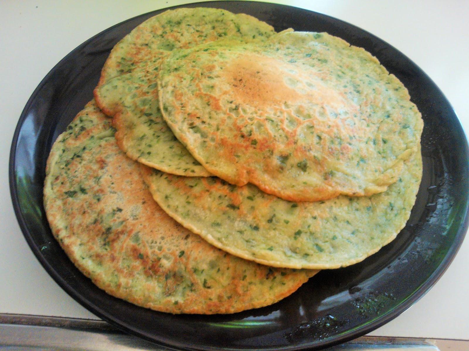 pannkakor utan ägg och bakpulver