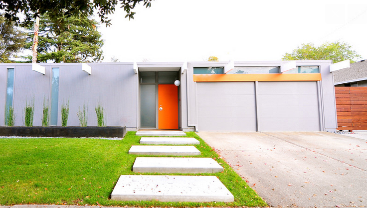 Front Door Color Ideas for Eichler and MidCentury Modern Homes