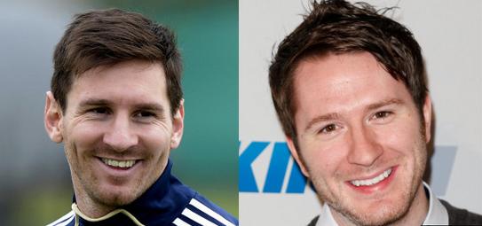 Lionel Messi, Striker Argentina vs. Adam Young, frontman Owl City