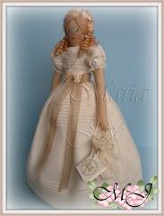 Muñeca de comunion