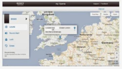 How to Finding a lost my Sony Xperia M2