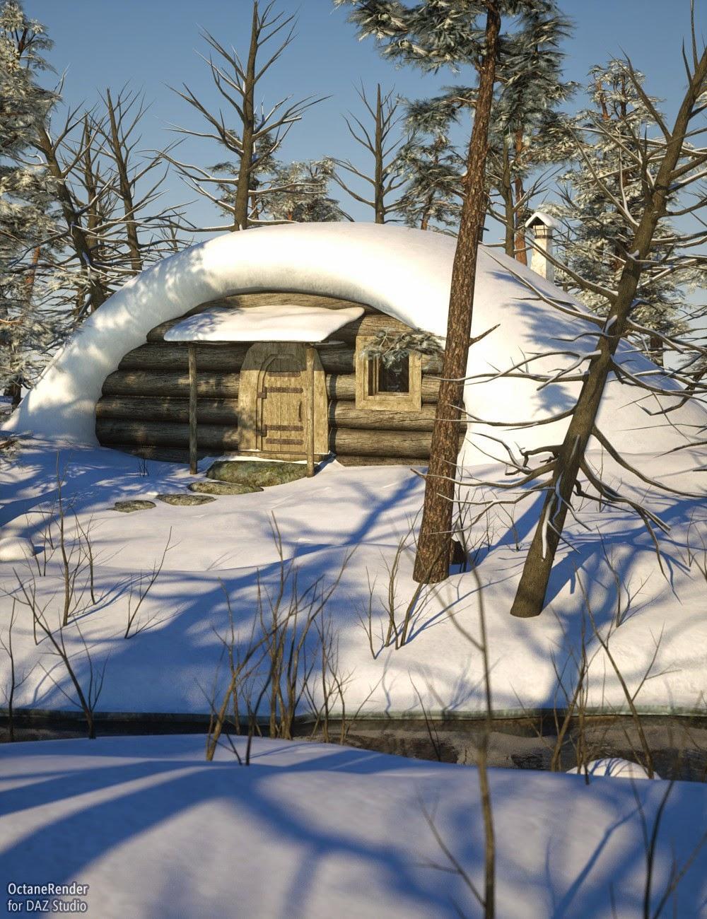 Forêt Hut