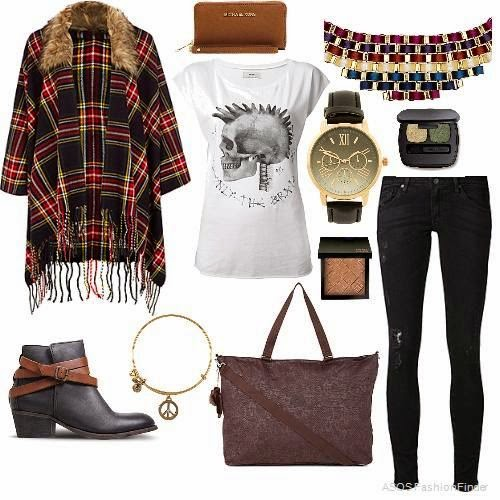 Tartan Cape Outfit