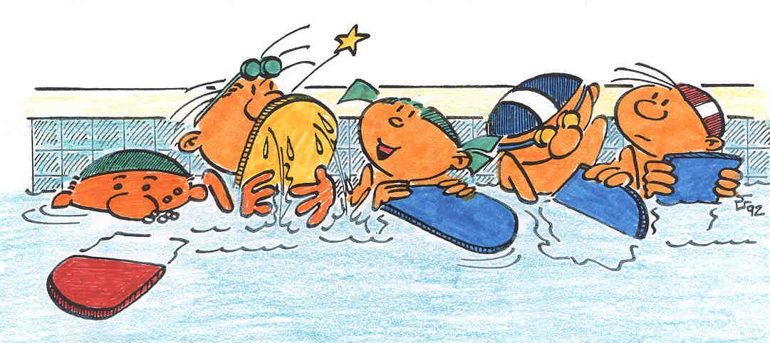 Ayer jueves los alumnos de Segundo A y B empezaron a ir a la piscina ...