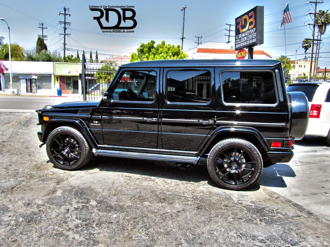 Mercedes benz g55 amg black on black benztuning for Mercedes benz black on black