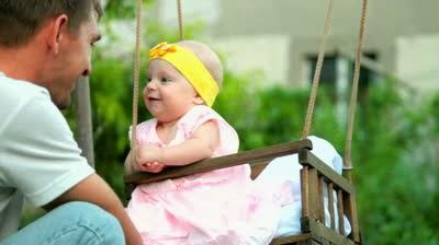 μωρό και μπαμπάς