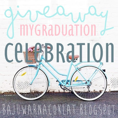 GIVEAWAY : MY GRADUATION CELEBRATION!
