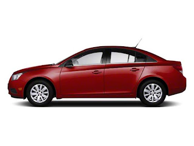 2012 Chevrolet Cruze 1XF Side View