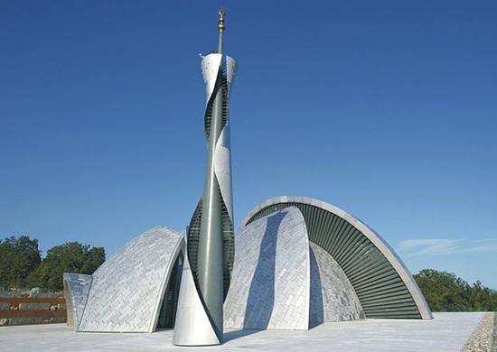desain masjid kontemporer