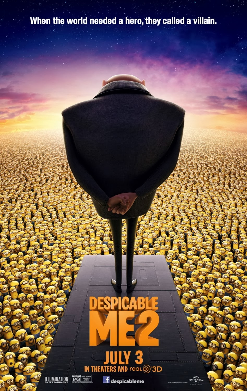 Movie Segments to Assess Grammar Goals: Despicable Me 2: Simple Past