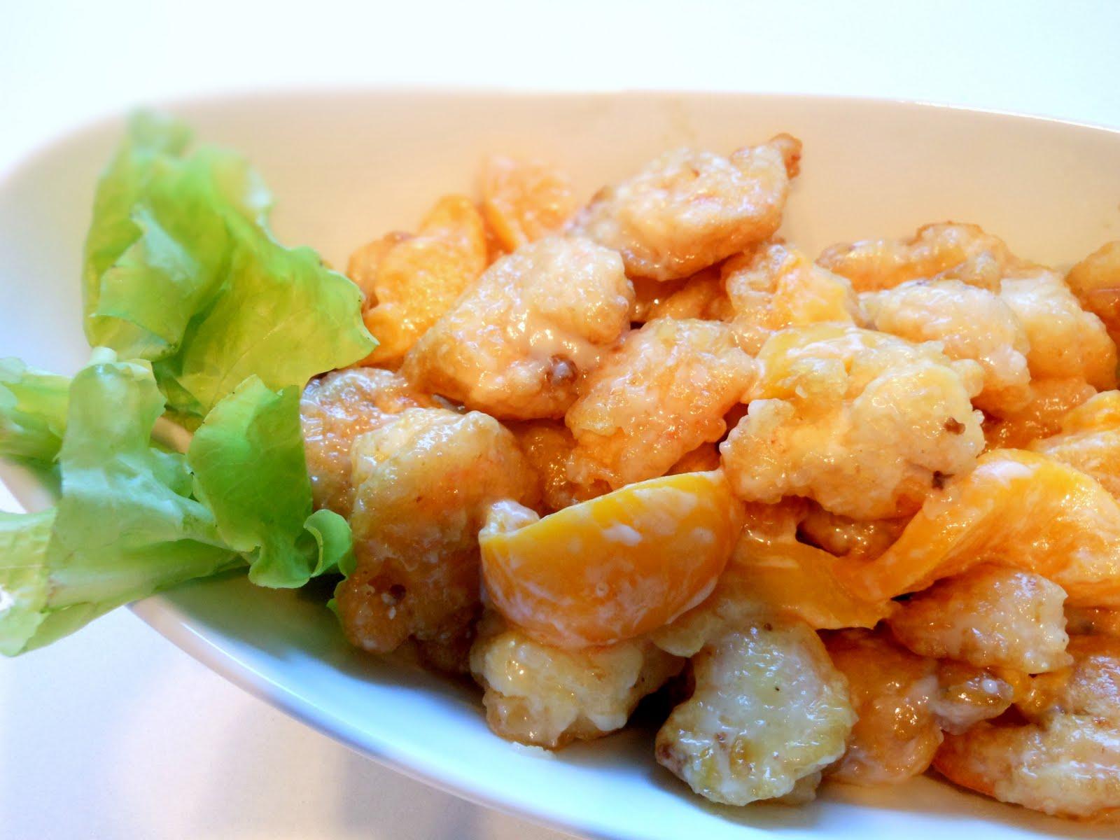 shrimp Asian mayonnaise