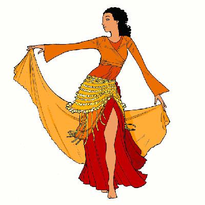 """Résultat de recherche d'images pour """"danse orientale dessin"""""""
