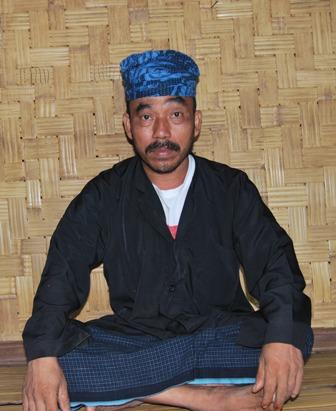 Daerah, yang juga Kepala Desa Kanekes, Kecamatan Leuwidamar, Kabupaten