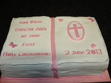 Holy Communion Cake for Tamzin Ann