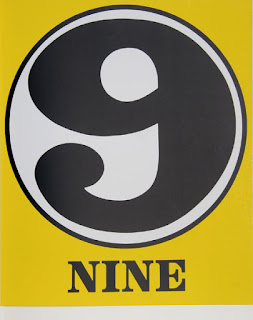 robert indiana creely numbers serigraphs nine 9