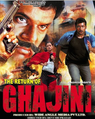 The Return of Ghajini 2010 Hindi Dubbed HDRip 700mb
