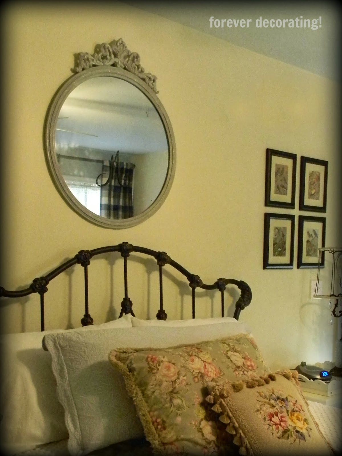 Forever Decorating!: Round Mirror Love