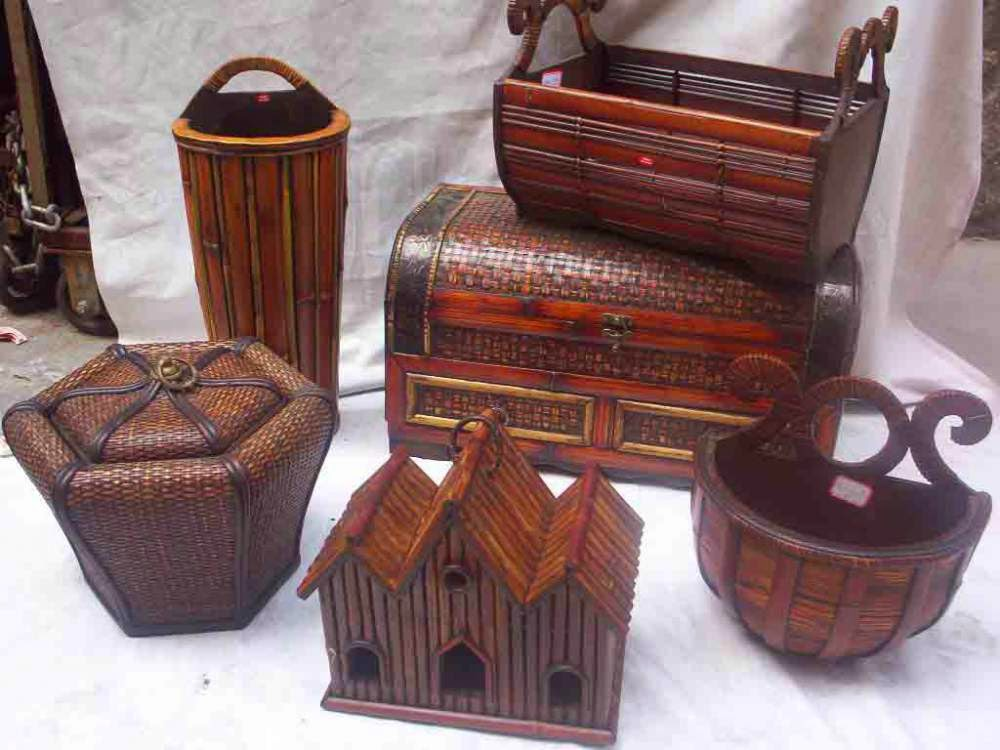 Handicrafts Of India Cane And Bamboo Crafts Of Jammu Kashmir India