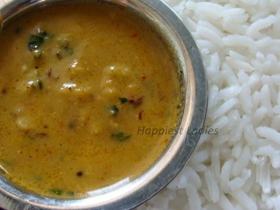 meethi dal gujarathi rice dish