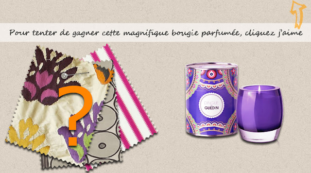 3 bougies parfumées Dingue de Guedin