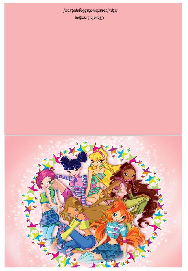 Popolare il mio angolo creativo: Cartoline Winx OU18