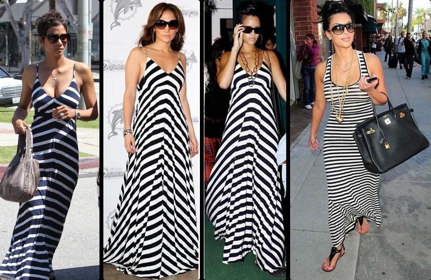 Cute Maxi Dresses Kim Kardashian