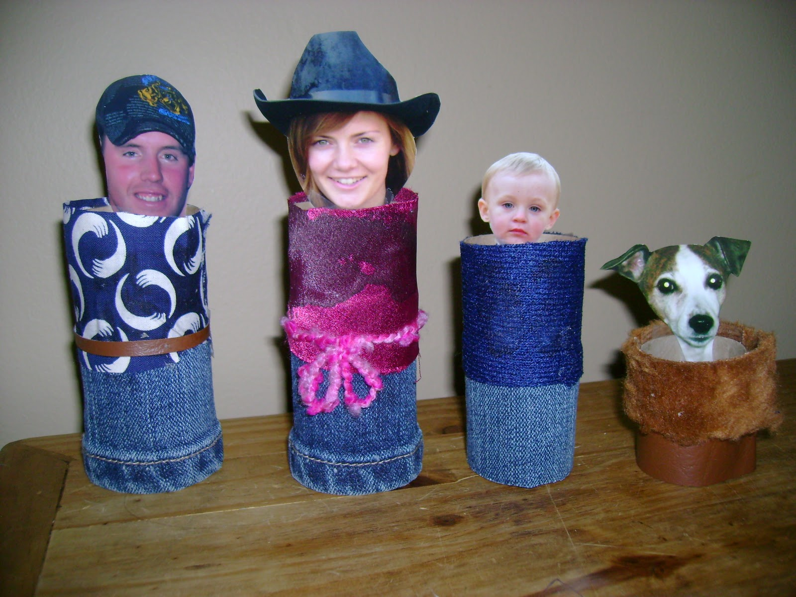 Found My Feet: Toilet Paper Roll Family Craft