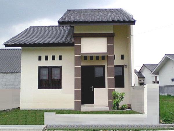 rumah minimalis type 45 7x15 m2 rumah minimalis taman