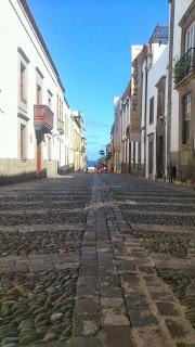 Calle de los balcones Las Palmas - Estudio de las artes