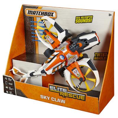 JUGUETES - Matchbox : Elite Rescue - Sky Claw | Strike Hawk  Chopper - Helicóptero | Vehiculo  Producto Oficial 2015 | Mattel CCW77 | A partir de 3 años  Comprar en Amazon