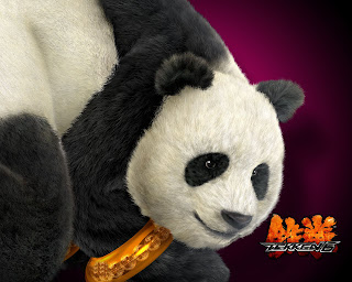 wallpaperz of giant panda in tekken