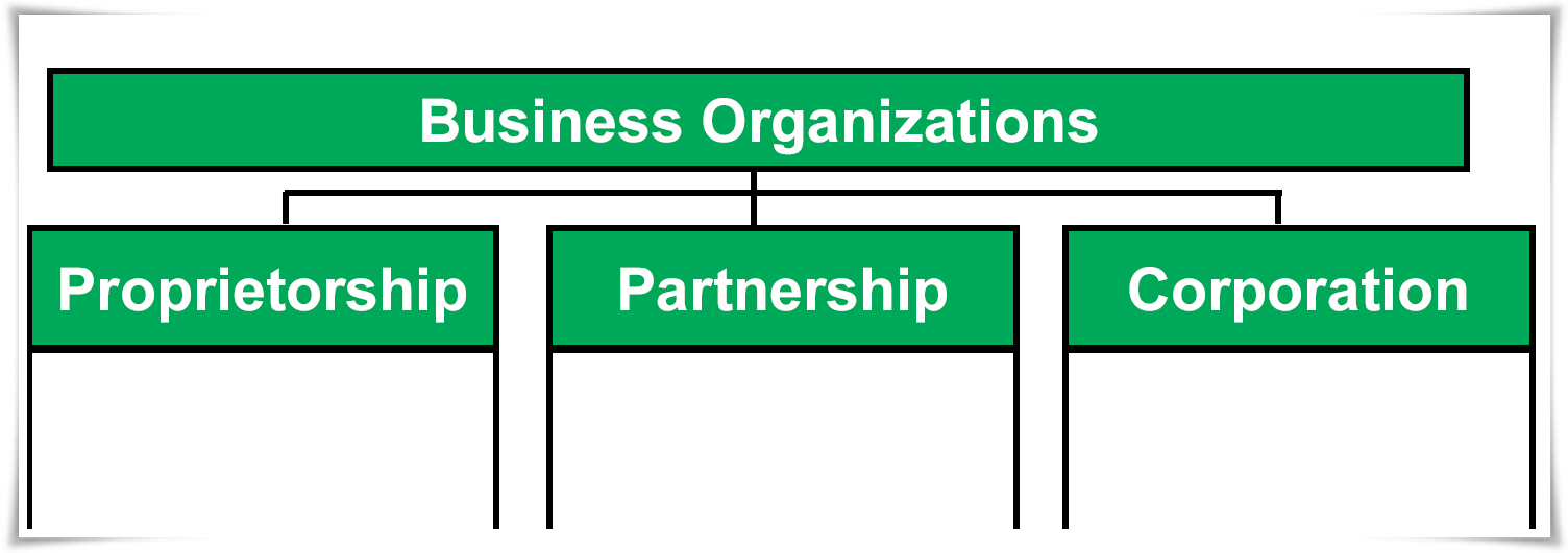 types of business organizations accounting taxation types of business organizations