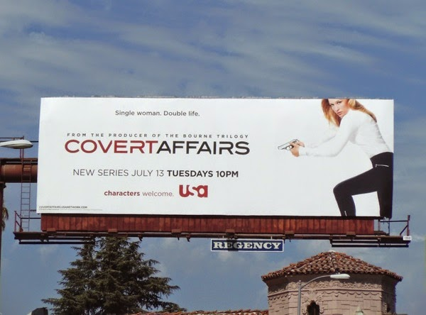 Covert Affairs season 1 TV billboard